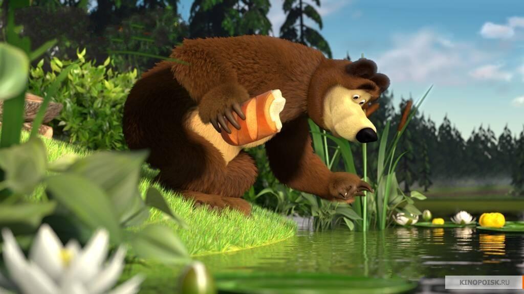маша и медведь знакомство фото