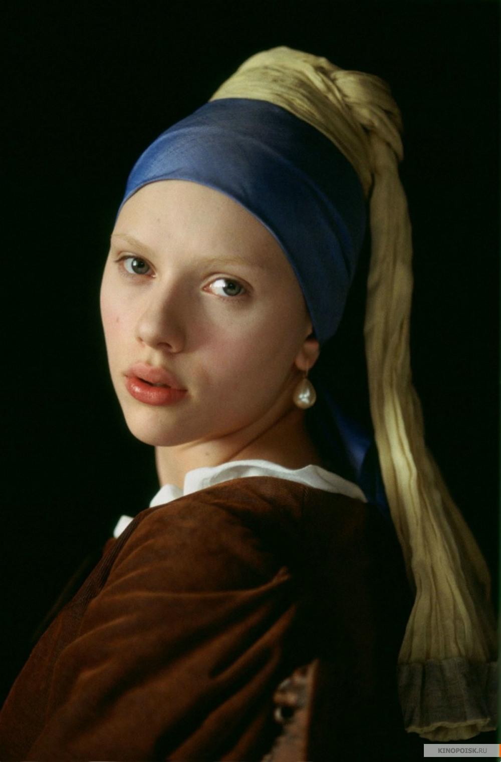 Девушка с жемчужной сережкой художник ян вермеер фото