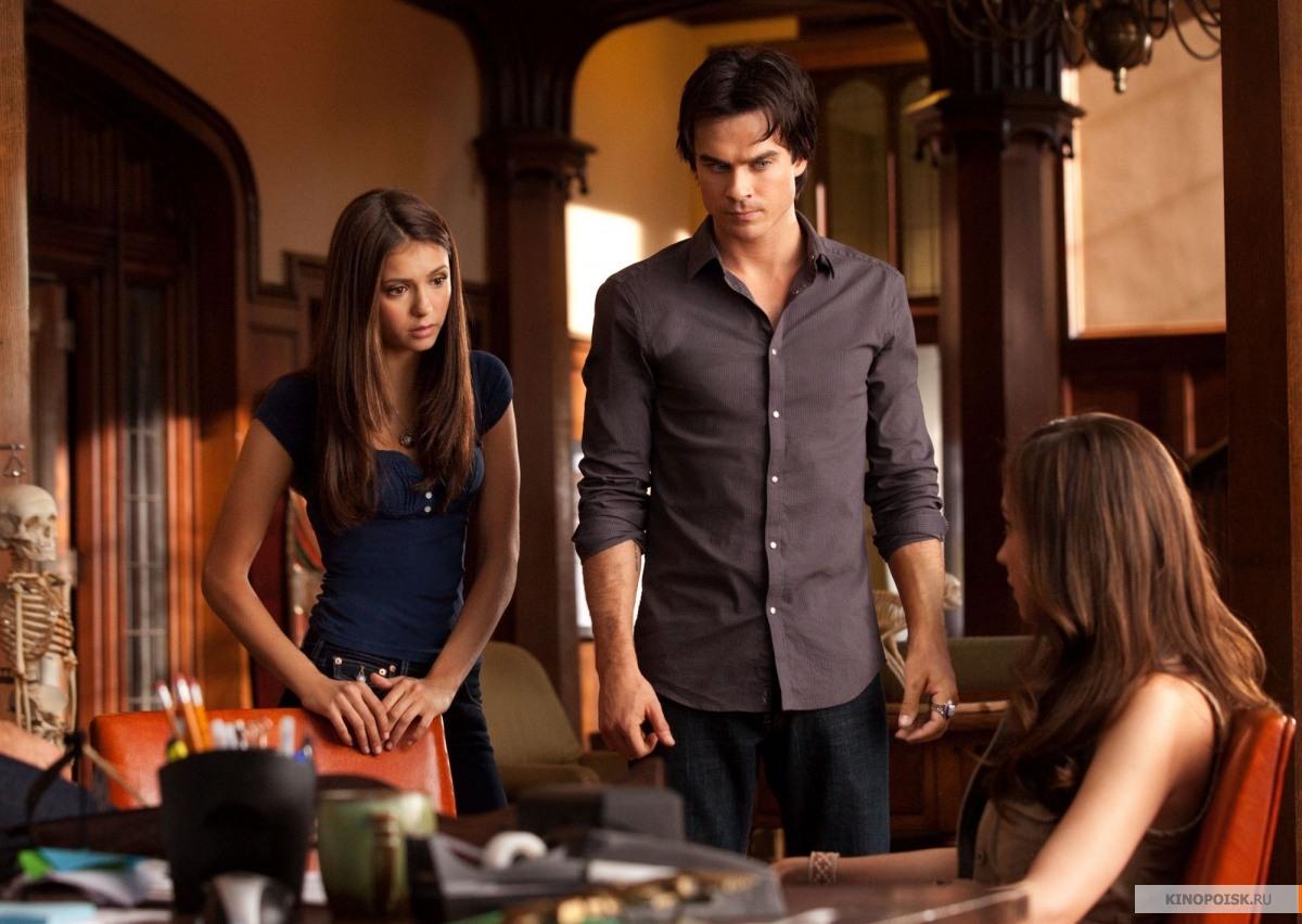 смотреть онлайн дневники вампира 1 серия 2 сезон