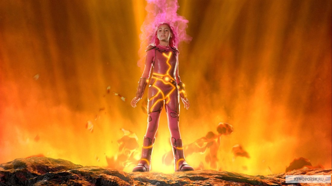 Sharkboy and lavagirl were gifted from a very young age with the power of 1980s-era blue screen