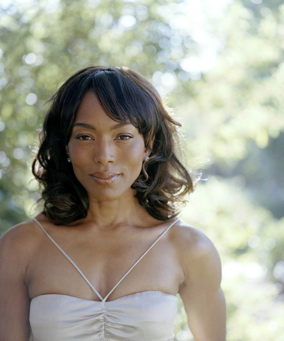 Angela bassett photo shoot