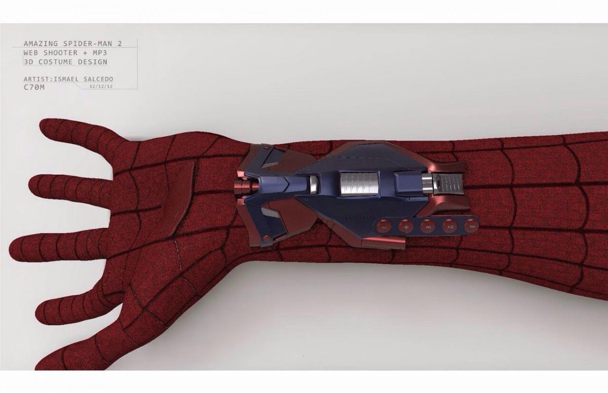Как сделали паутину в новом человеке пауке