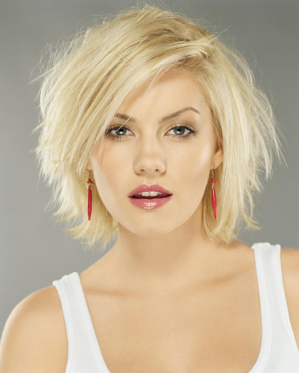 Женские стрижки для блондинок