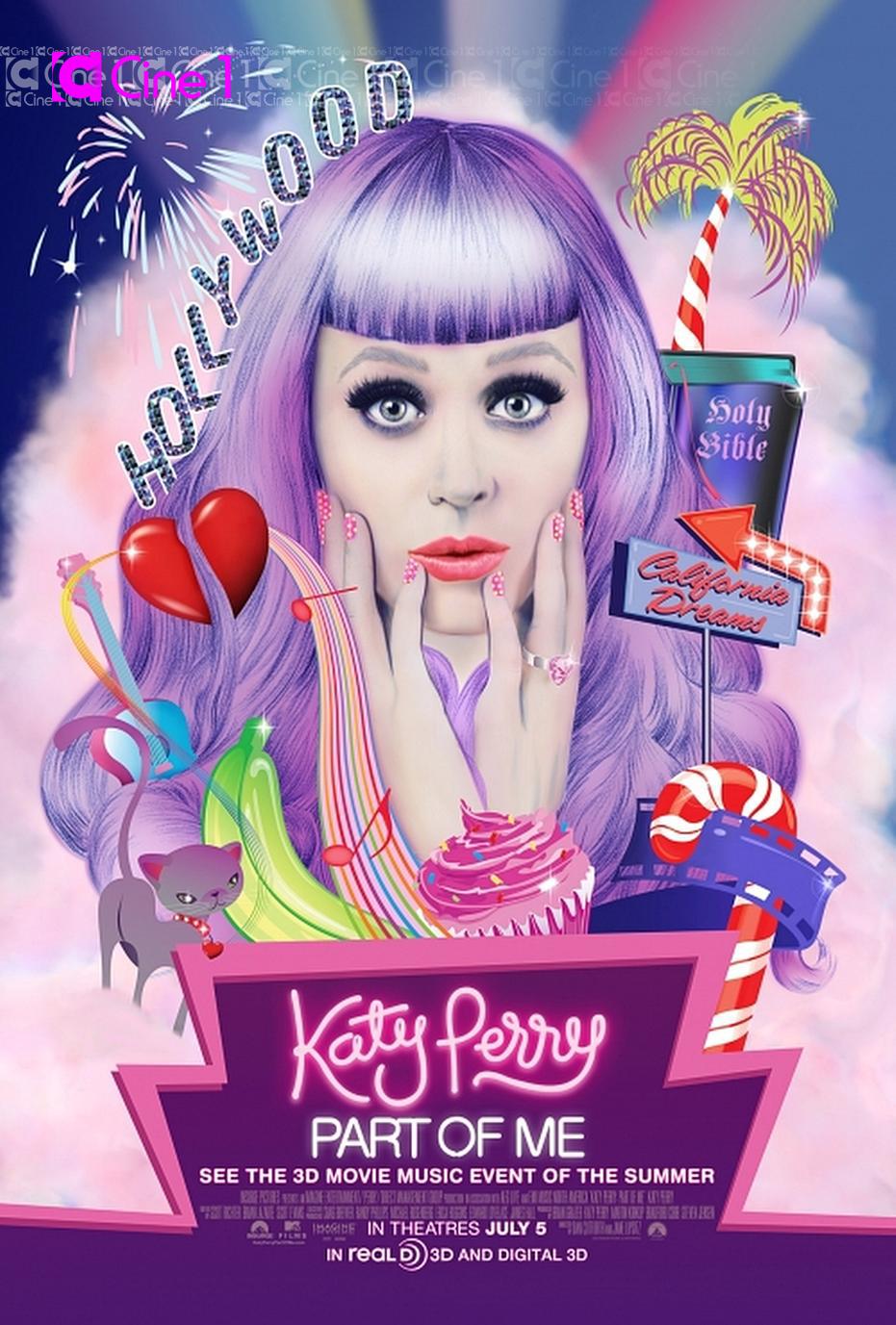 Постеры: Кэти Перри: Частичка меня / Постер фильмa «Кэти ... кэти перри частичка меня на русском