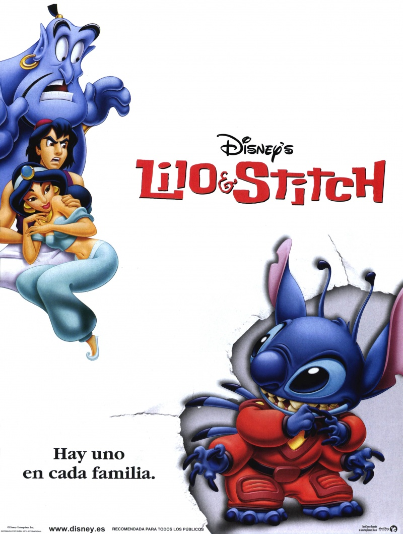 Lilo and stitch movie poster