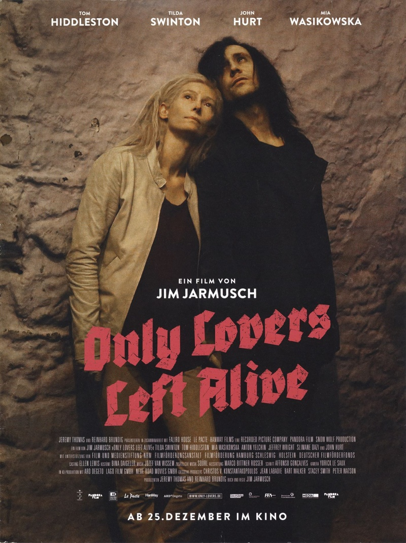 Only lovers left alive 2013 poster