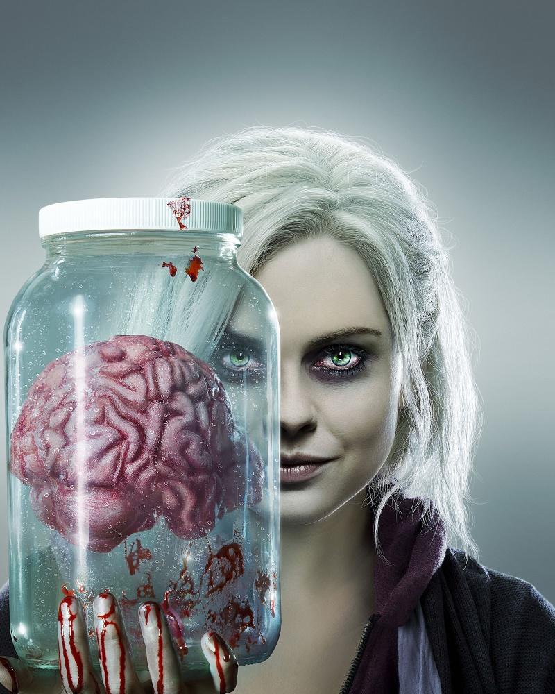 Постер сериалa a href=https://wwwkinopoiskru/film/824275/ target=blankя - зомби (2015)/a на кинопоиске: https