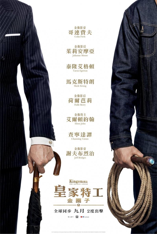 Фильм kingsman золотое кольцо 2017