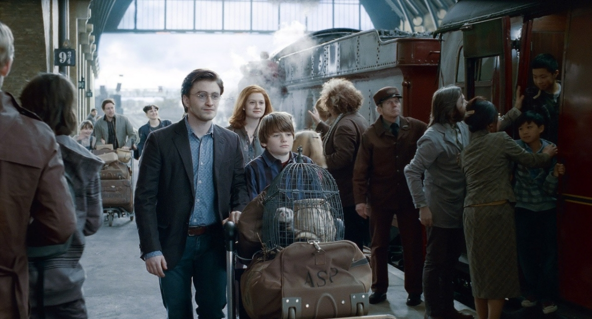 Кадр Гарри Поттер и Дары Смерти: Часть II