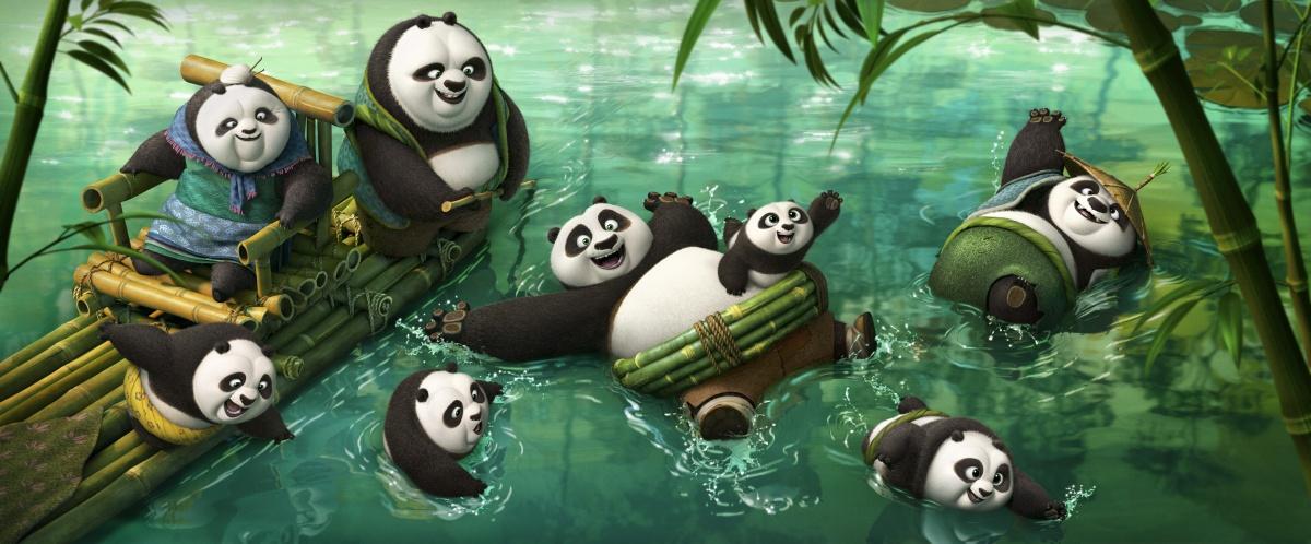 Кадр Кунг-фу Панда 3 / Kung Fu Panda 3