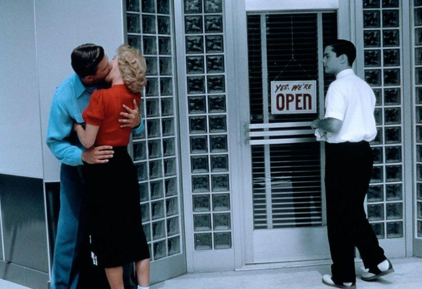 an examination of the film pleasantville