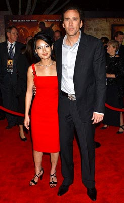 кейдж николас с женой фото