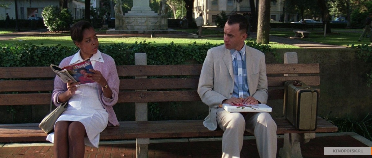 the simple view in life of forrest in the movie forrest gump