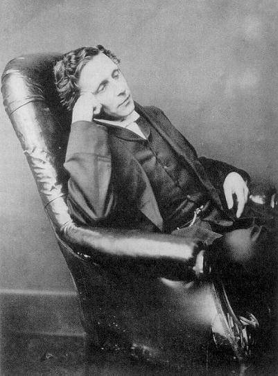 main character lewis Charles dodgson, better known as lewis carroll, always denied that the characters in alice's adventures in wonderland (1865) and through the looking-glass and what alice found there (1871) were based on real people but the author traveled in relatively tight social and academic circles he likely.