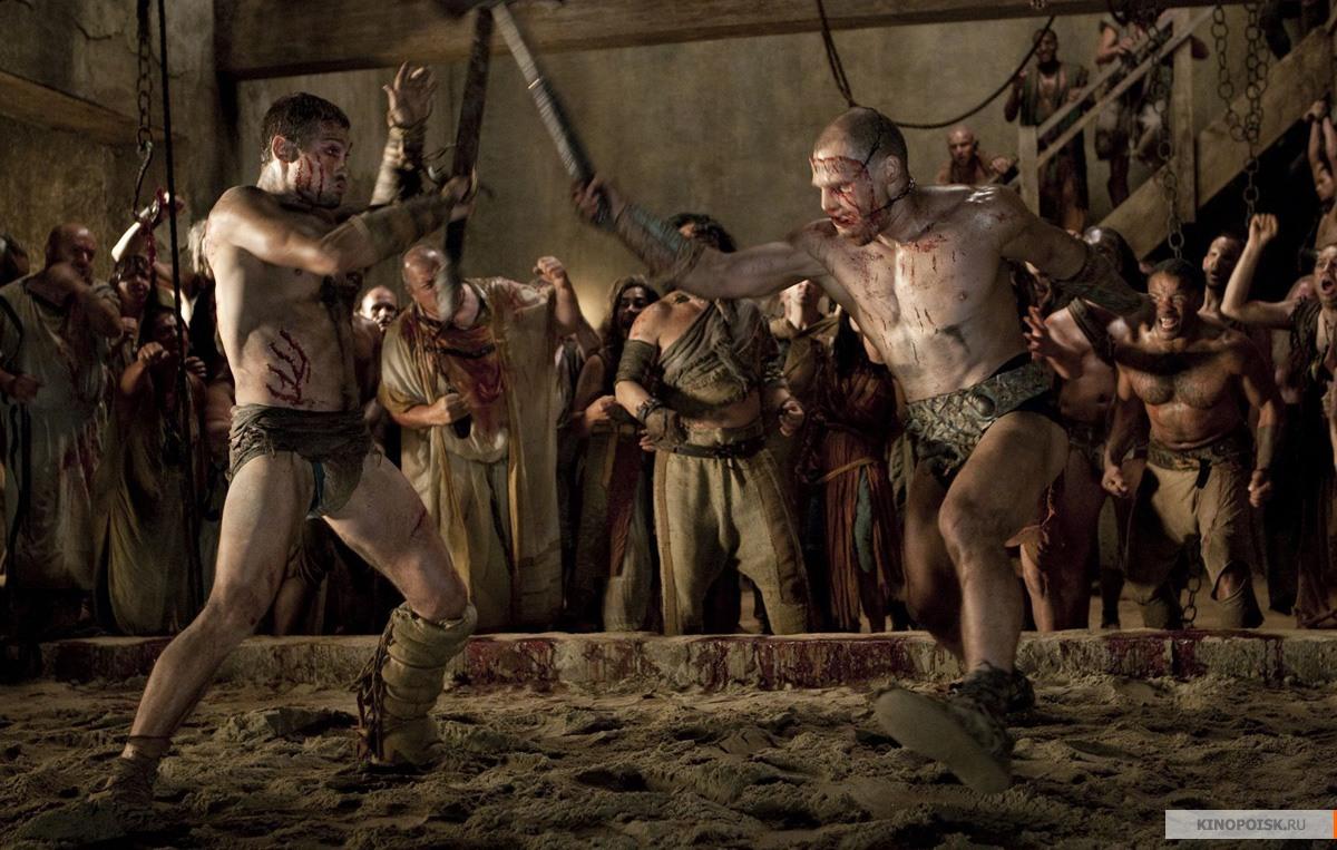 Спартак кровь и песок картинки