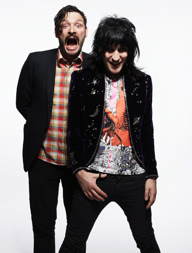 british comedy and a comparison of british actor noel fielding and the schrodingers cat thought expe