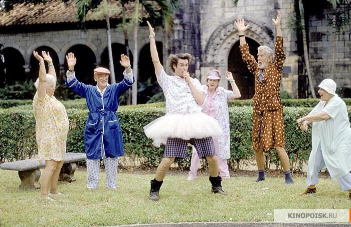 кадр №3 из фильма Эйс Вентура: Розыск домашних животных (1993)