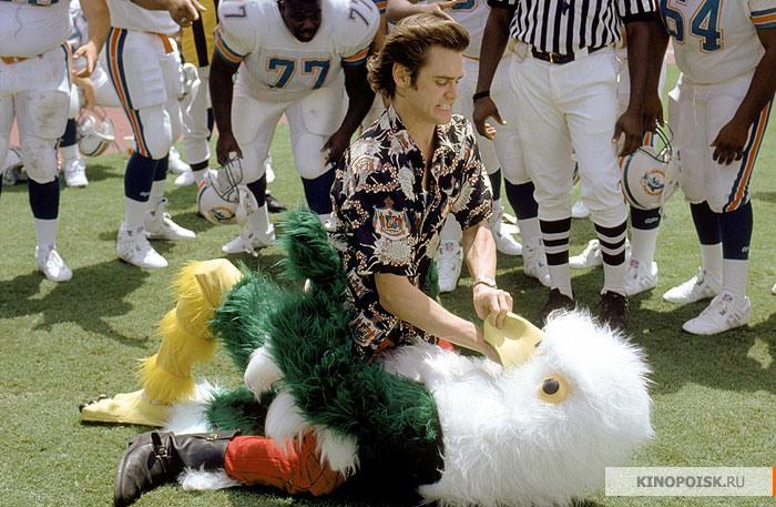 кадр №2 из фильма Эйс Вентура: Розыск домашних животных (1993)