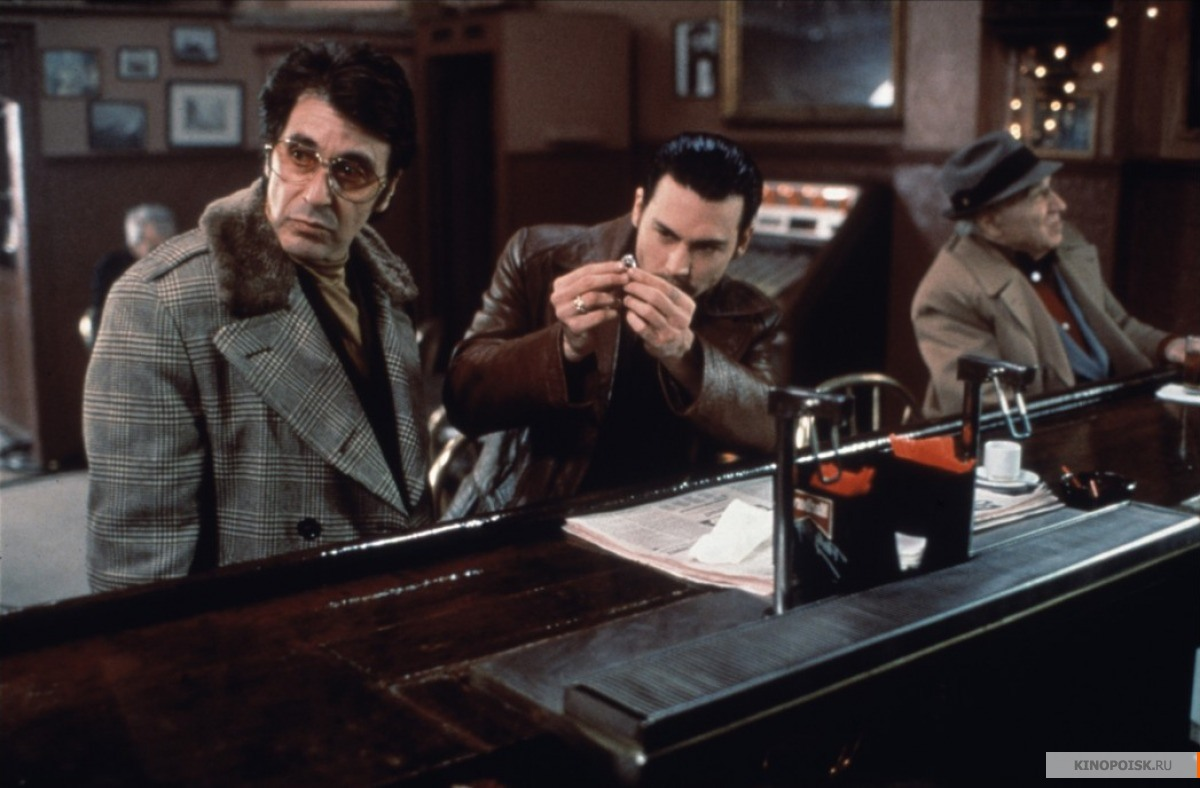 a movie analysis of donnie brasco starring al pacino and johnny depp Watch video  with al pacino, johnny depp, michael madsen title: donnie brasco (1997) 78 /10 want to share imdb's rating on your own site use the html below.