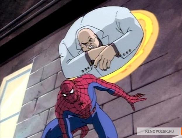 смешные картинки из человек паук 1994 картон