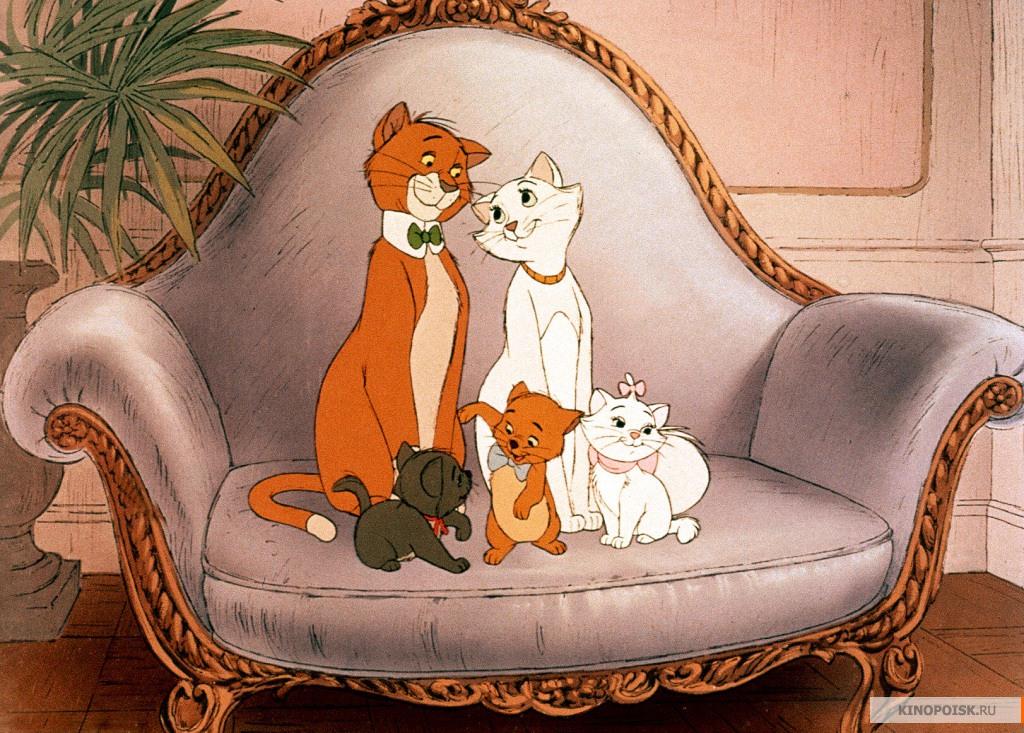 Картинки коты с мультфильмов