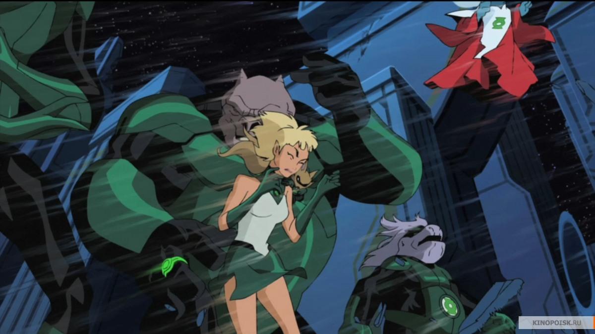 кадр №1 из фильма Зеленый Фонарь (2009)