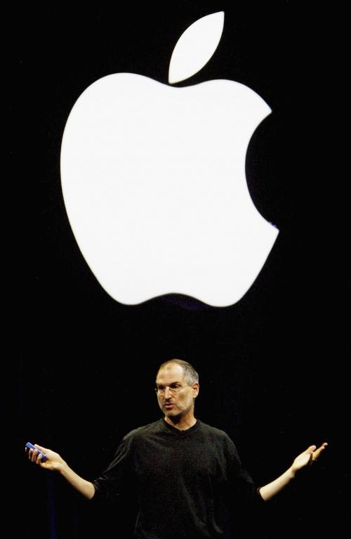 стив джобс картинка с яблоком одно нескольких обстоятельств