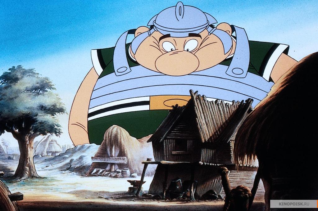 кадр №3 из фильма Большой бой Астерикса (1989)