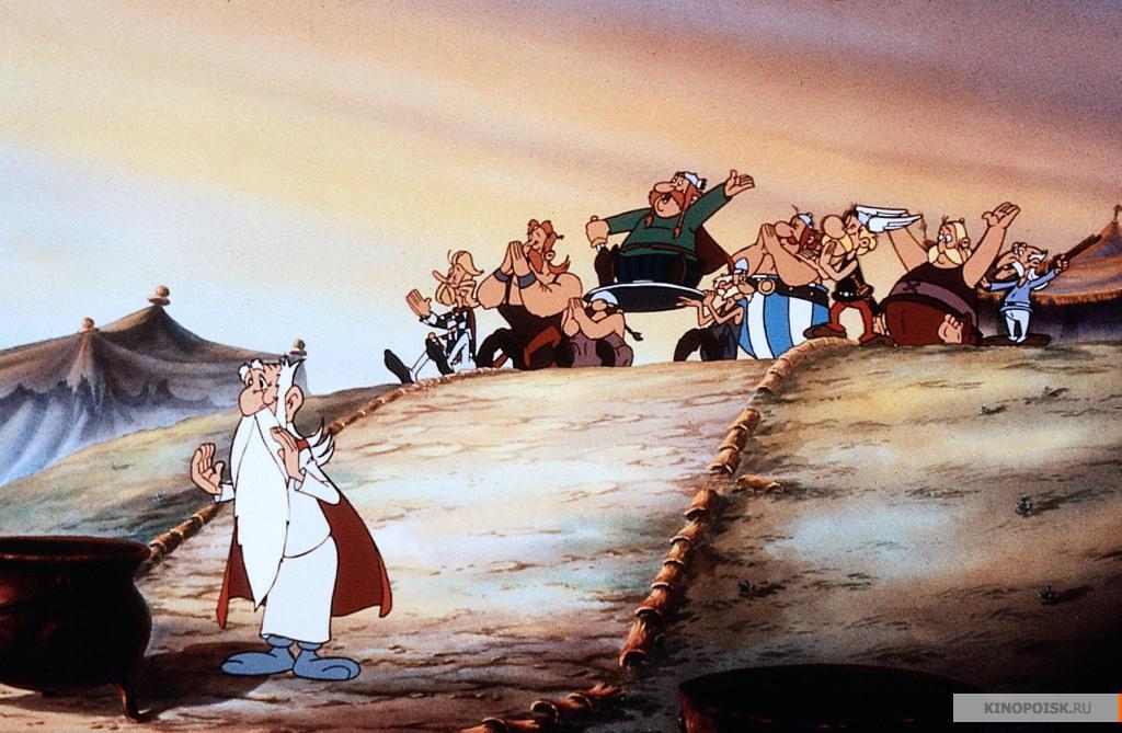 кадр №2 из фильма Большой бой Астерикса (1989)
