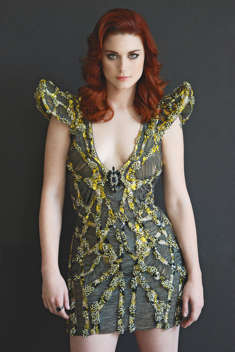 alexandra breckenridge hair color