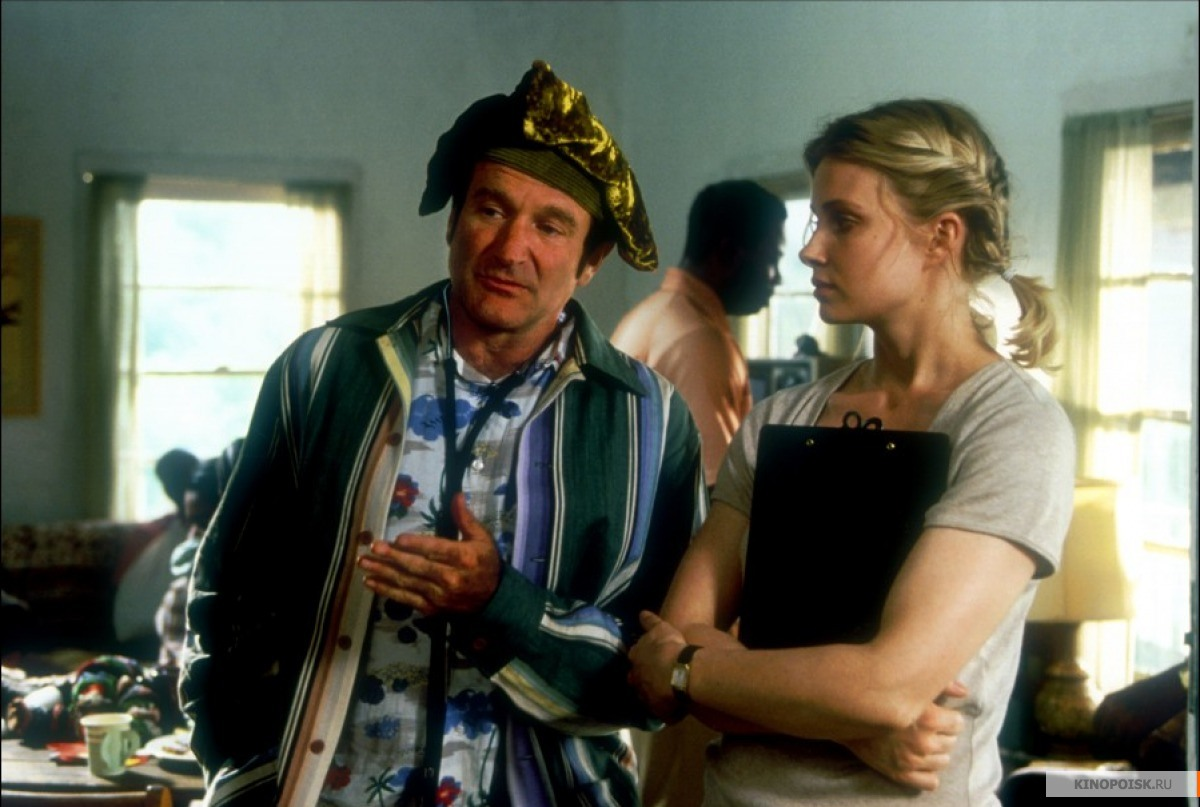 an analysis of patch adams a film starring robin williams