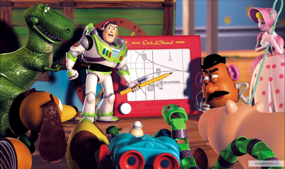 кадр №2 из фильма История игрушек 2 (1999)
