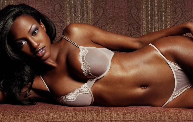 Красивые фото негритянки нижнем в белье