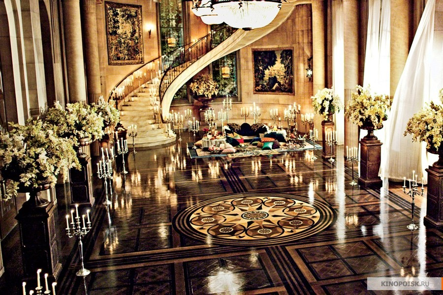 the great gatsby the setting in