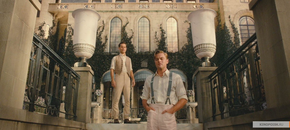 a comparison of the movie and the novel the great gatsby