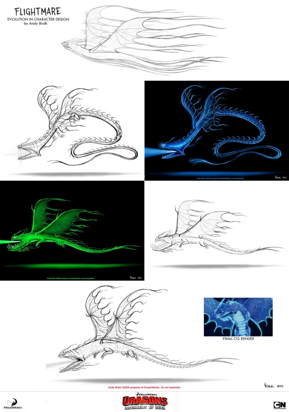 Рисунок драконы и всадники олуха, марта