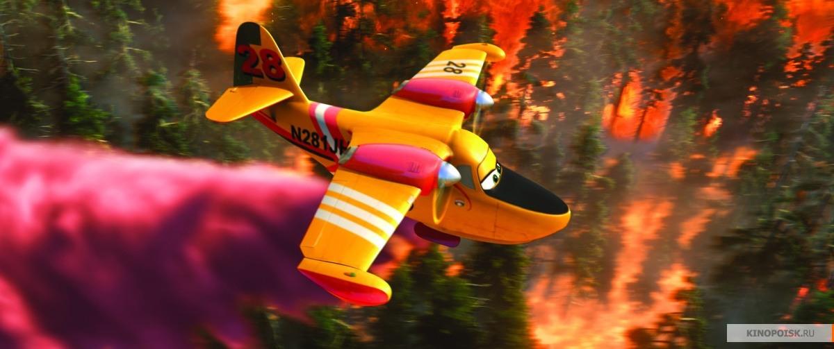 кадр №1 из фильма Самолеты: Огонь и вода (2014)
