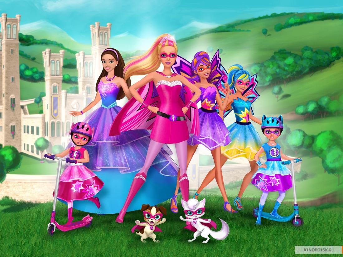 Фото: Барби: Супер Принцесса / Кадр из мультфильма «Барби ...