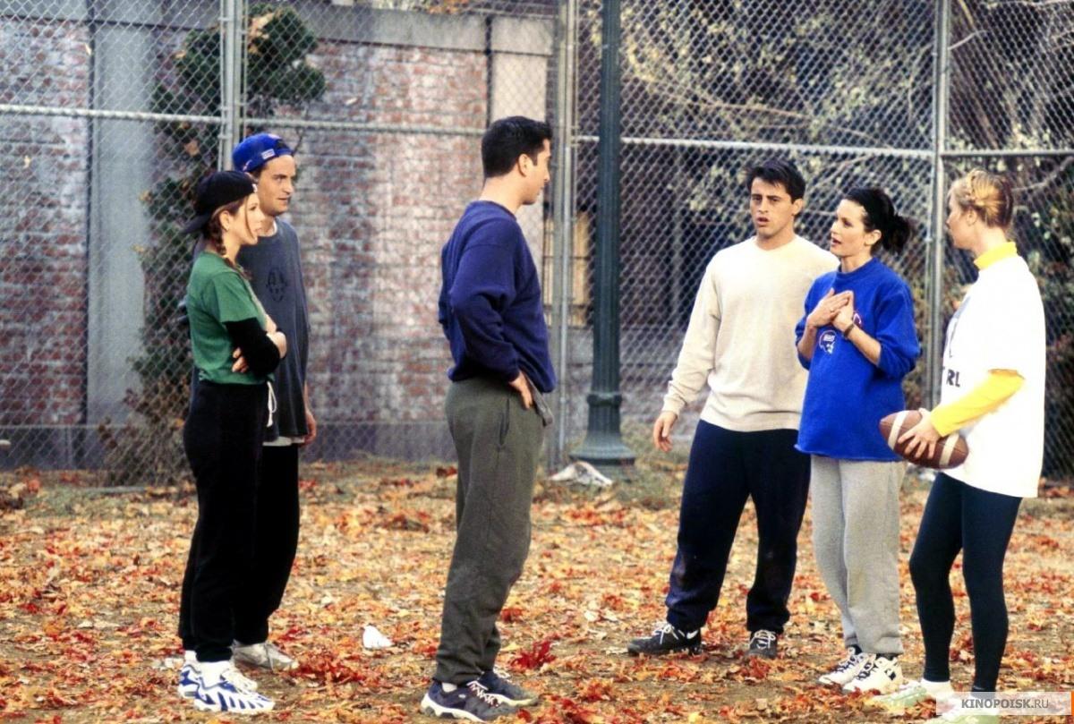 кадр №1 из фильма Друзья (1994) 10 сезон