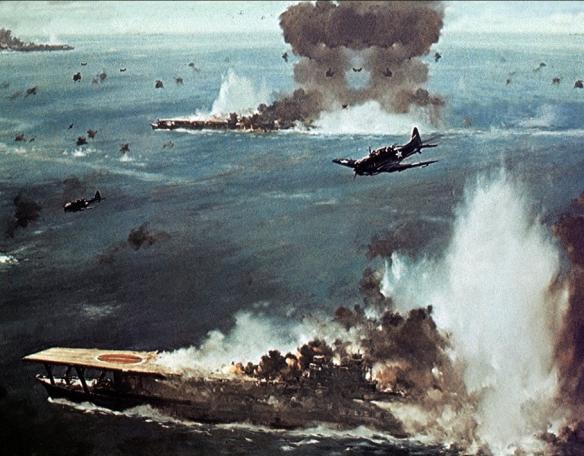 фото флот японии тихий океан вторая мировая