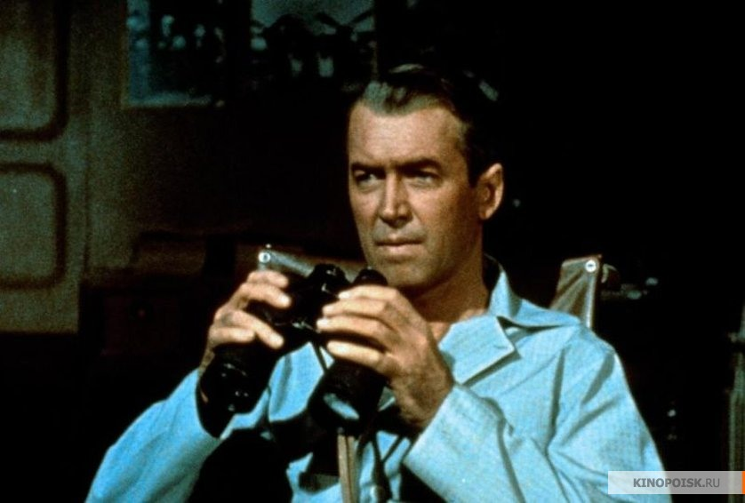 rear window 1954 observation Laid up with a broken leg, photojournalist lb jeffries (james stewart) is confined to his tiny, sweltering courtyard apartment to pass the time between visits from his nurse (thelma ritter) and his fashion model girlfriend lisa (grace kelly), the binocular-wielding jeffries stares through the rear window of his apartment at the goings-on in.