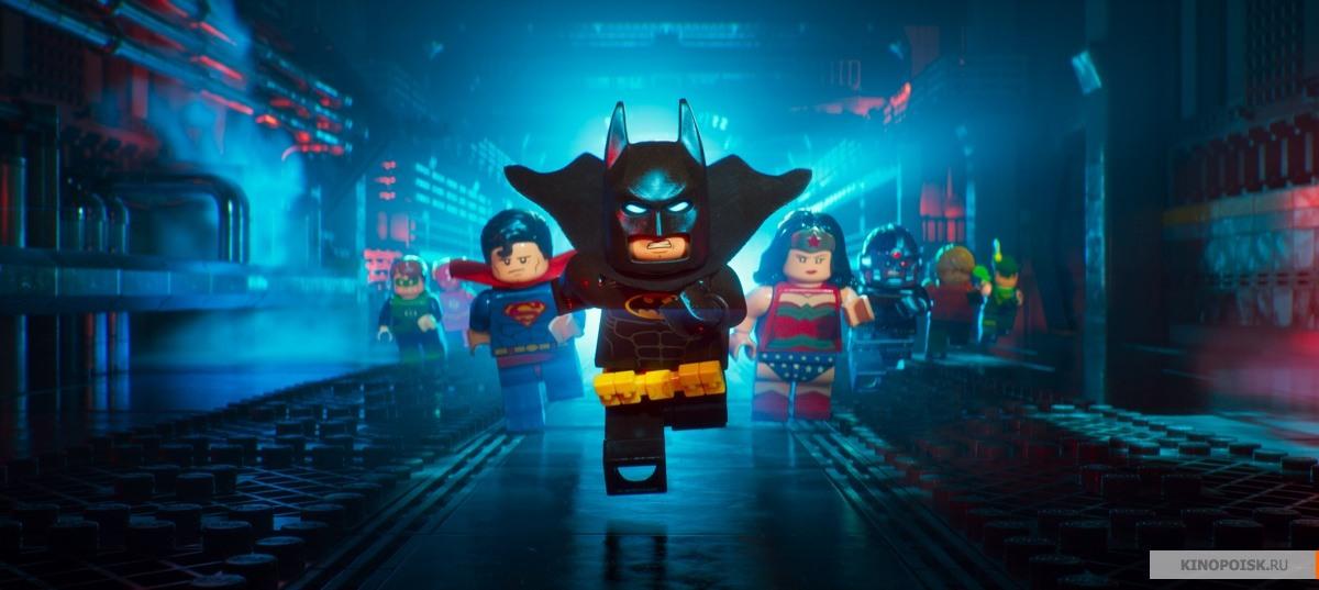 Лего Фильм: Бэтмен кадр 1