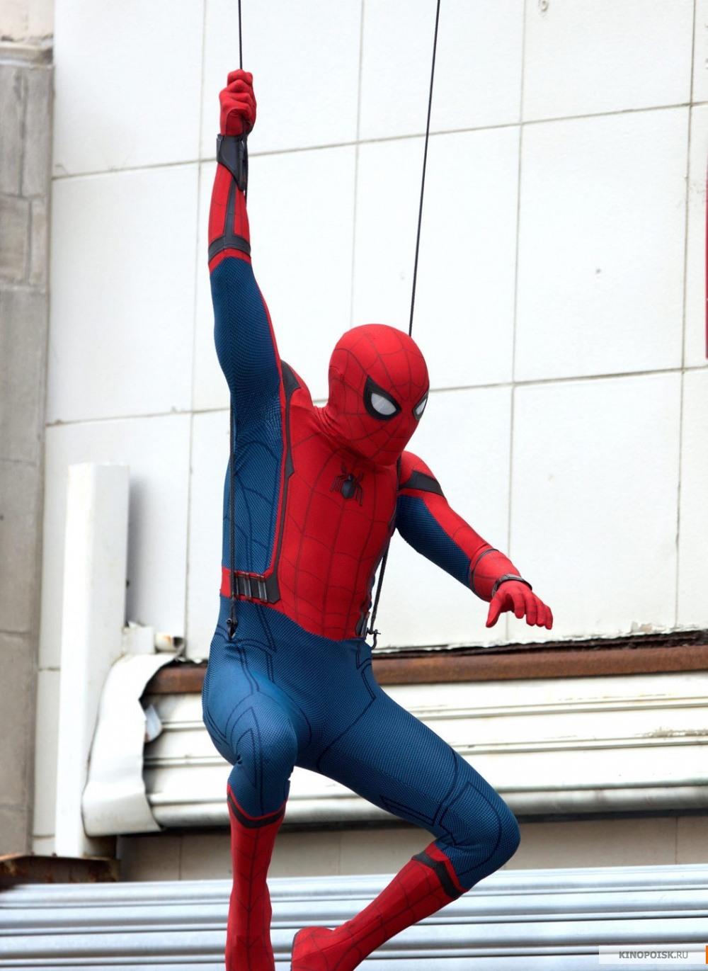 Фото: Человек-паук: Возвращение домой / Кадр со съёмок ...