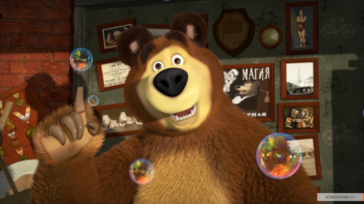 Первый скриншот Маша и медведь. Новые истории
