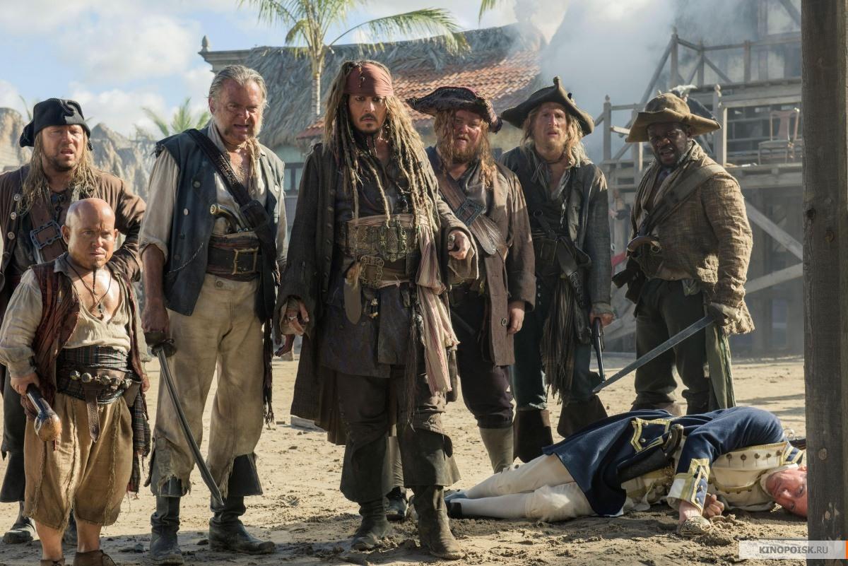 кадр №1 из фильма Пираты Карибского моря: Мертвецы не рассказывают сказки (2017)