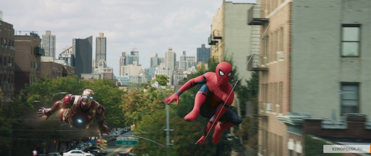 кадр №2 из фильма Человек-паук: Возвращение домой (2017)
