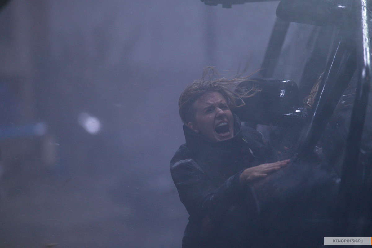 кадр №2 из фильма Ограбление в ураган (2018)