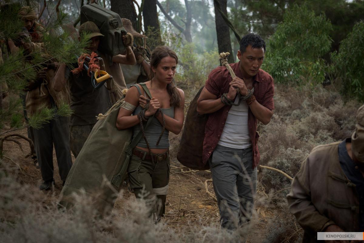 кадр №1 из фильма Tomb Raider: Лара Крофт (2018)
