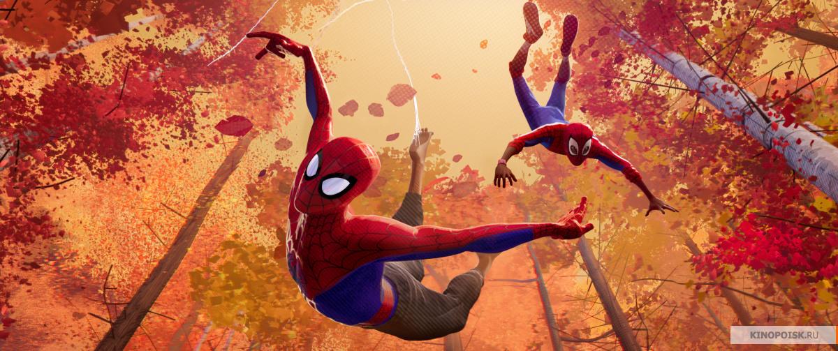 кадр №3 из фильма Человек-паук: Через вселенные (2018)
