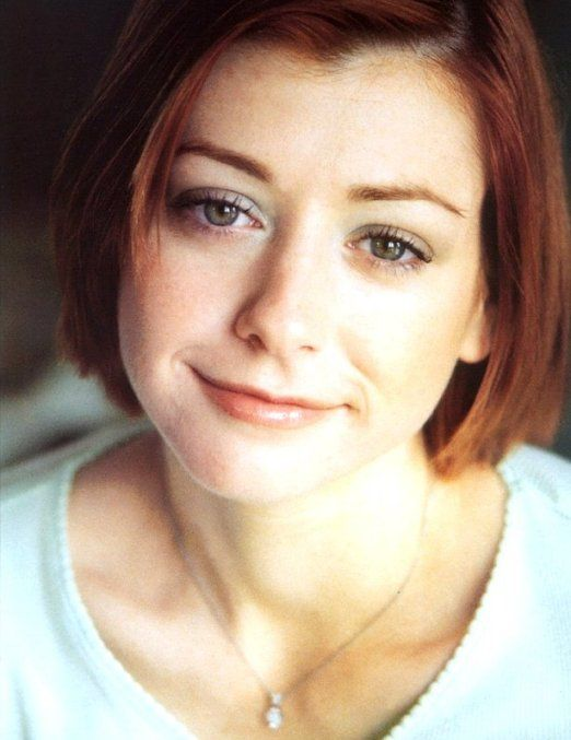 Alyson hannigan facial